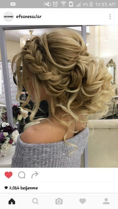 long hair models - wedding hairstyles for long hair are very numerous, which makes it not so easy . - About women - long hair models – wedding hairstyles for long hair are very numerous, which makes it not so easy - Homecoming Hairstyles, Wedding Hairstyles For Long Hair, Wedding Hair And Makeup, Bride Hairstyles, Cool Hairstyles, Hair Makeup, Hairstyle Wedding, Easy Hairstyle, Hairstyle Ideas