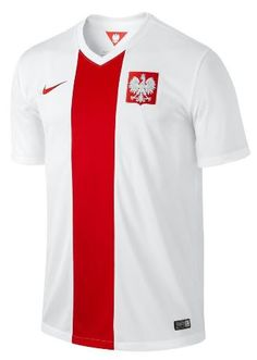 Poland Home Jersey 2014 – 2015 National Football Teams, Football Stadiums, Men's Football, Football Shirts, Soccer Jerseys, Poland Football, Nike, Chef Jackets, Polo Ralph Lauren