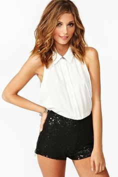 Jan you'll be needing these...Sequin Hot Shorts ...bachelorette pahhtayyyy  (nastygal.com)