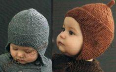 Babymütze gestrickt von Lida-Shop auf DaWanda.com