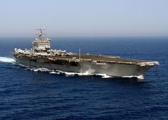 "Super Porta-Avião ""USS Enterprise"" (CVN-65). Propulsão nuclear."