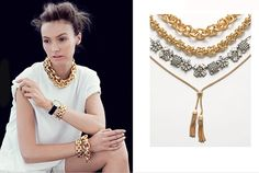 Chic And Bold J.Crew Spring/Summer 2013 Jewelry Collection
