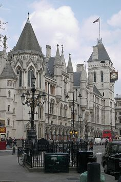 Law Courts ~ London, England