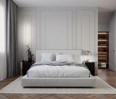 Modern Luxury Bedroom, Master Bedroom Interior, Bedroom Closet Design, Modern Bedroom Design, Room Ideas Bedroom, Home Room Design, Luxurious Bedrooms, Home Decor Bedroom, Interior Design Living Room