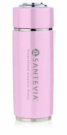 Santevia Alkaline Water Flask Pink $39.99 - from Well.ca