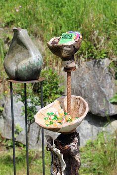 Kunstfest am Kunst-Arbeitshof bei Fam. Exhibitions, Clay, Vase, Events, Bird, Outdoor Decor, Home Decor, Pictures, Art