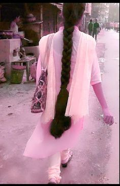 Two Braids, Braids For Long Hair, Beautiful Braids, Beautiful Long Hair, Bun Hairstyles For Long Hair, Braided Hairstyles, Indian Long Hair Braid, Big Bun, Moon Art