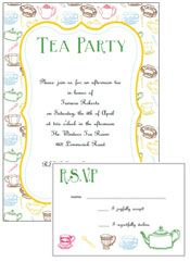 Free afternoon tea party invitation template tea party pinterest make your own cute tea pot shaped tea party invitations easy to make diy party invitations with a free printable template free invitation templates stopboris Choice Image