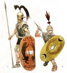La guerre des Gaules. Illustration par Vincent Pompetti.
