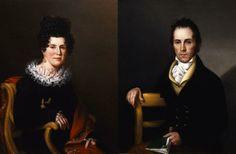 Сара Мириам Пил ~ Сьюзен Эйвери и Исаак Эйвери 1821