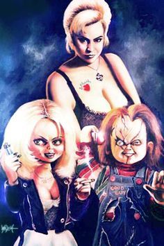 BRIDE OF CHUCKY by woodywelch