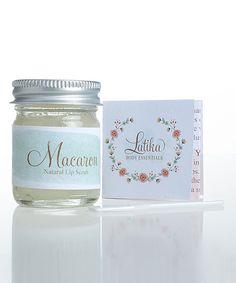 LATIKA Macaron Lip Scrub Set | zulily