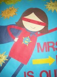 superhero+themed+classroom | super hero themed classroom
