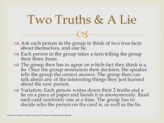   The leader has the group randomly pair up. Once introductions between partners are made, the leader gives the group a ...