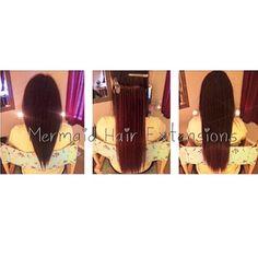 Mermaid Keratin Bonded Fusion Extensions !  Instagram - @MermaidHairExtensionsXO www.MermaidHairExtensionsXO.com Mermaid Hair Extensions, Hair Extensions For Sale, Human Hair Extensions, Fusion Extensions, Remy Hair, Keratin, Instagram, Riveting, Hair Extensions