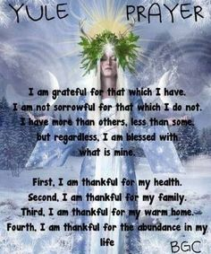 A Yule Prayer Of Thanks Thanks to ~az Better Gnomes & Cauldrons Yule Traditions, Winter Solstice Traditions, Pagan Yule, Pagan Art, Samhain, Yule Celebration, Eclectic Witch, Wiccan Spells, Green Witchcraft