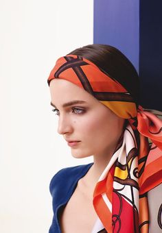 "Fall-Winter 2012 Hermès silk collection  Silk twill scarf ""Coup de fouet"".   Photo : Nathaniel Goldberg"
