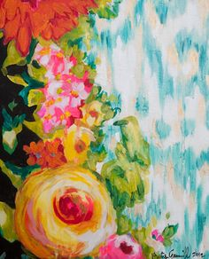 """Kirsty Gammill - 16x20 original acrylic on 1 1/2"""" gallery wrapped canvas"""