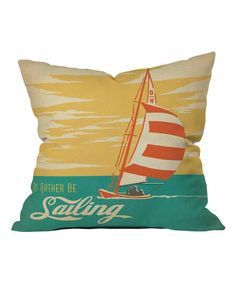 Instantly refresh your home's décor with this throw pillow that sports a charming graphic, soft microfiber finish and plush fill.