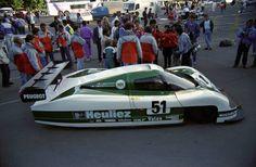 1988 WM P 88  Peugeot (2.850 cc.)   Roger Dorchy  Claude Haldi  Jean-Daniel Raulet