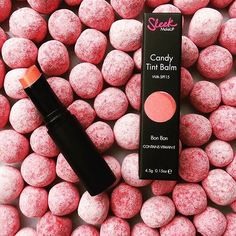 Another one of our Candy Tint Balm's!  Absolutely LOVE this Bon Bon colour  Available in store now! #new #inspo #TSCoLDN #style #candy #bonbon #tint #balm #lips #sleek #sleekmakeup #thestyleco #london #bridlington