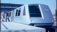 """Rapid Transit: """"Rush Hour Space Age"""" ~ 1967 Litton Industries; Space Age Images https://www.youtube.com/watch?v=SJrDDeHZYms #rail #transit #transportation"""