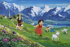 Heidi - Animation by Hayao Miyazaki (Studio Ghibli) 1974