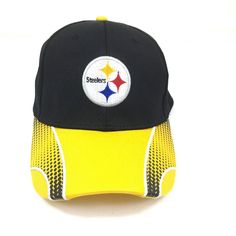 NFL Pittsburgh Steelers Budweiser Bud Light Fitted Hat Cap One Size for All  #BudLight #PittsburghSteelers