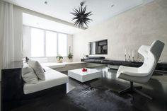 Apartment in residential skyport by Alexandra Fedorova 06 - MyHouseIdea