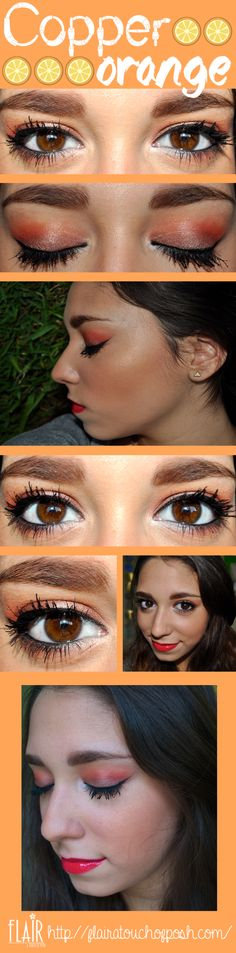 Pretty makeup look! the full tutorial is in the blog !!