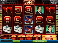 Iron Man is a 5-reel 20-line video slot game with extra features – a Scatter, the Expanding Wild symbol, the Iron Man Feature and a Missile Attack Bonus round. The video slot is inspired by the fictional superhero Iron Man... read more http://www.freeslots.jp/free-games/playtech/iron-man/
