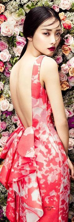 """Kwak Ji Yang for """"The Petals"""" ~ Zhang Jingna"""