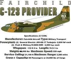 WARBIRDSHIRTS.COM presents Other Aircrafts, available on Polos, Caps, T-shirts, Sweatshirts and more. featuring here in our Other Aircrafts collection the C-123 Provider