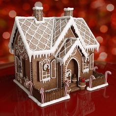Cardboard Gingerbread House, Gingerbread House Designs, Gingerbread House Parties, Christmas Gingerbread House, Gingerbread Cookies, Gingerbread Houses, Christmas Cooking, Christmas Desserts, Christmas Fun