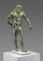 Roman, Statuette of Hercules Statuette of Hercules, 2nd century A.D.  Bronze 22 x 11.4 x 8.6 cm (8 11/16 x 4 1/2 x 3 3/8 in.) Katherine K. Adler Memorial Fund, 1978.308 Art institute Chicago