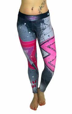 S2 Activewear - Retro Wonder Woman Leggings - Roni Taylor Fit  - 2