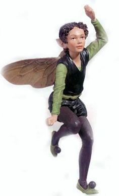 Retired Cicely Mary Barker Privet Flower Fairy Ornament Figurine | eBay