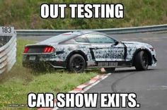 Hilarious Mustang Memes Have Broken The Internet: Here Are Our Favorites Mustang Meme, Ford Mustang Gt, Ford Gt, Car Memes, Car Humor, Funny Memes, Buick, Bugatti, Chevy Vs Ford