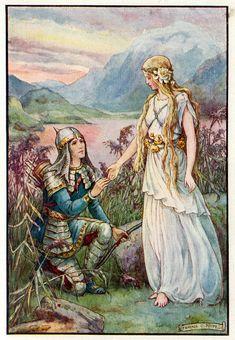 Art And Illustration, Illustrations, Dragons, Templer, English Artists, Fairytale Art, Pre Raphaelite, Chivalry, Faeries