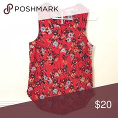 """Small Floral Ambercrombie Top Super cute small floral top   18"""" pit to pit  27"""" length Abercrombie & Fitch Tops Blouses"""