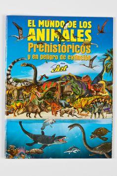 El Mundo de los Animales Prehistóricos (by Chocolates Jet)