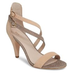 303caf44c059 Shop Klub Nico arden sandal. Available in peony  pewter embossed leather