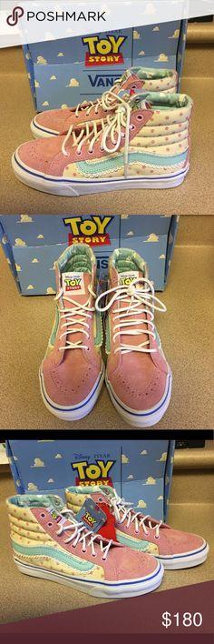 Vans Sk8 Hi Slim Toy Story Bo Peeps Women's Size 5 Rare Hard to find Brand New Women's Sk8 Hi Slim Vans Toy Story Bo Peeps Size 5 Women Size 3.5 Men NWT In Box Vans Shoes Sneakers