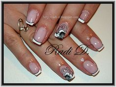 French - Nail Art Gallery nailartgallery.nailsmag.com by NAILS Magazine nailsmag.com #nailart