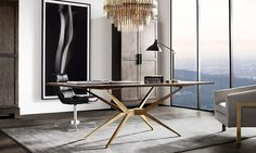 Contemporary luxury office via Real Estate by Demi