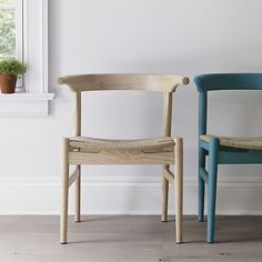 Neils Natural Dining Chair I Crate and Barrel
