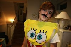 In the present day he dresses up as SpongeBob... | Say Hello To Emma Watson's Brother,Alex Alex Watson, Emma Watson, Ben Whishaw, Emily Didonato, Say Hello, We Heart It, Ronald Mcdonald, Brother, Singer