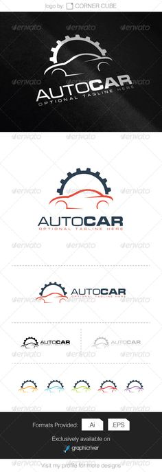 Auto Car Logo #graphicriver