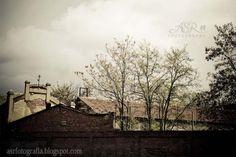 Muro y cielo