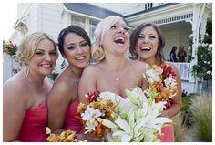 Weddings in Sonoma County, CA at the Domenichelli Farmhouse  Bride and her Ladies